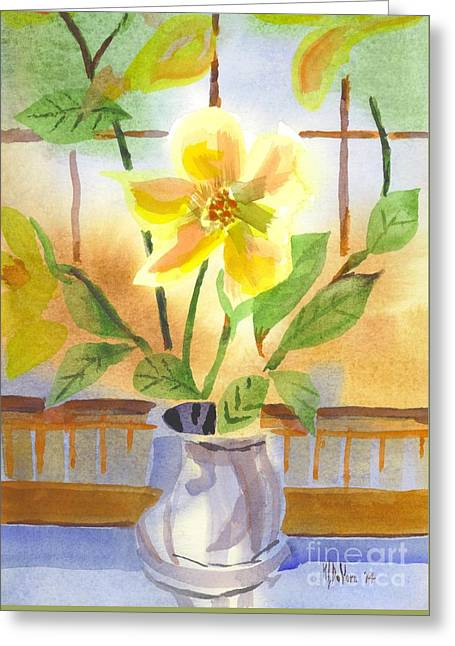 Magnolia C1 Greeting Card