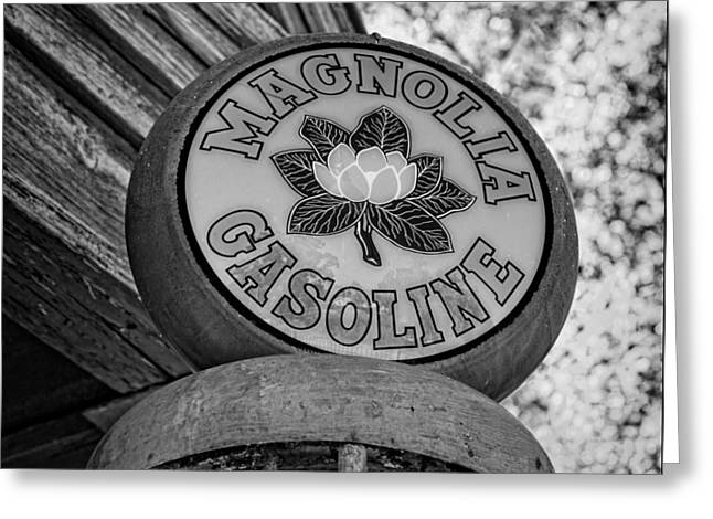Magnolia Gasoline 3 Greeting Card by Stephen Stookey