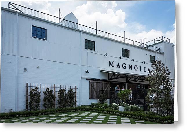 Magnolia Market Greeting Card by Debra Martz