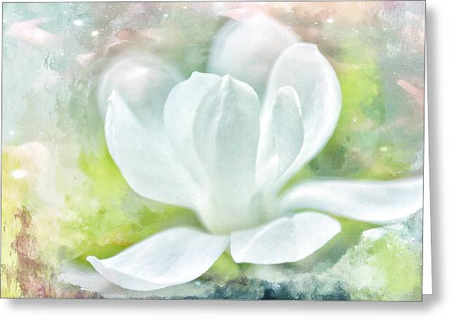Magnolia Meditation  Greeting Card
