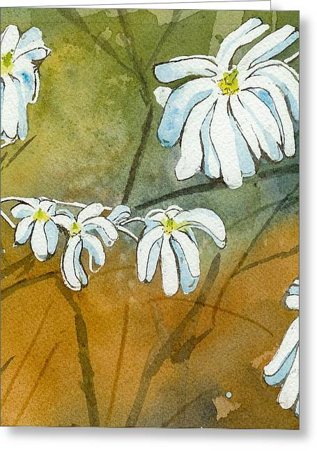 Magnolias 1 Of 3 Greeting Card by Lynn Babineau