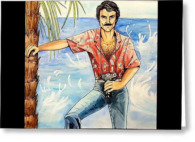 Magnum P.i. Greeting Card