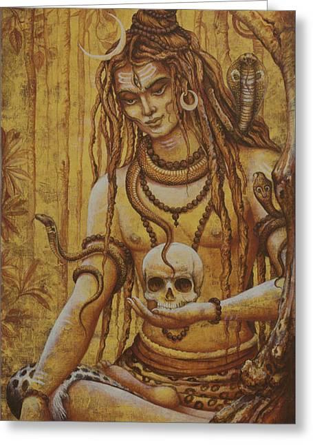 Mahadev. Shiva Greeting Card