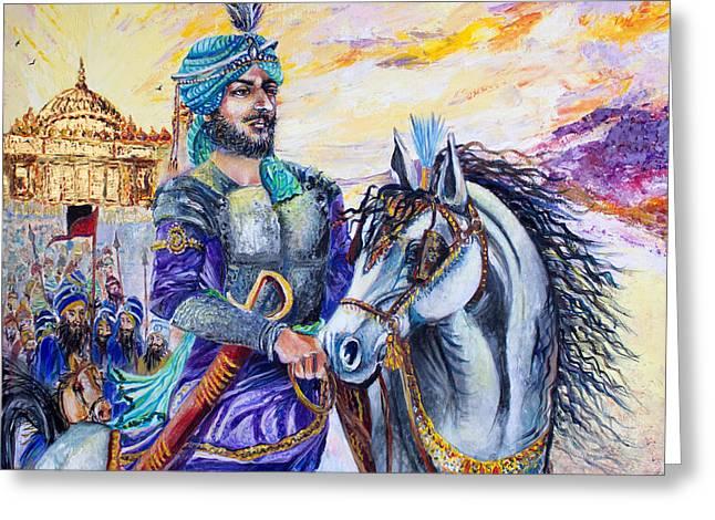 Maharaja Ranjit Singh Greeting Card