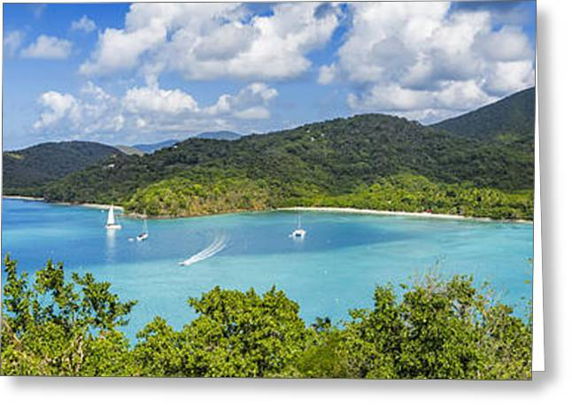 Maho And Francis Bays On St. John, Usvi Greeting Card