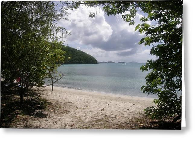 Maho Bay St John Usvi Greeting Card by Kimberly Mohlenhoff