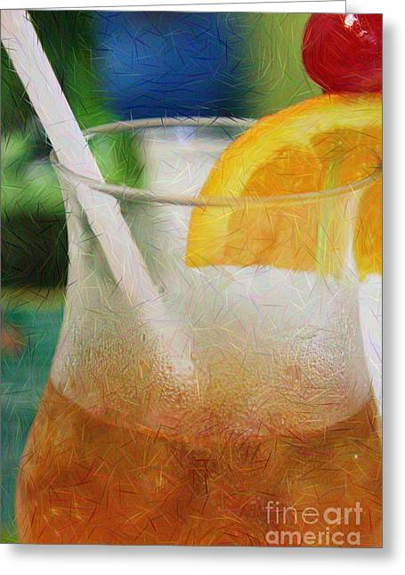 Mai Tai Anyone Greeting Card
