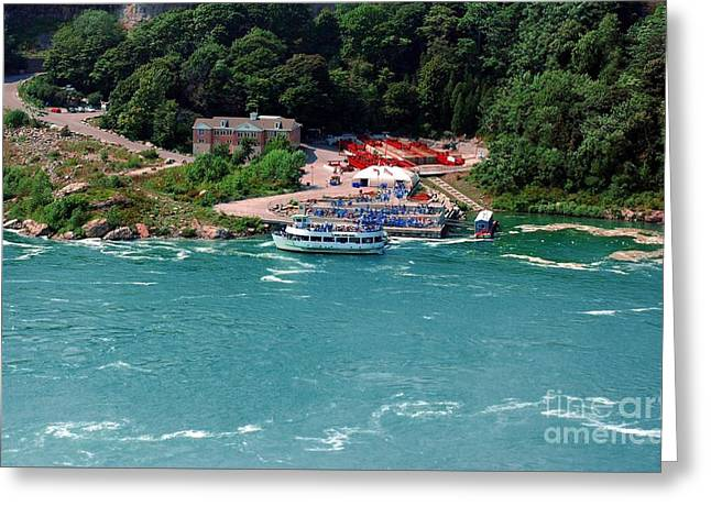 Maid Of The Mist Greeting Card by Kathleen Struckle