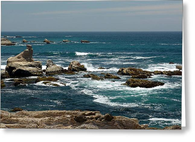 Maiden Rock Greeting Card by Marty Moon