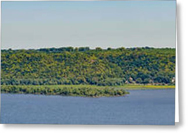 Maiden Rock, Wi Greeting Card by Dan Traun