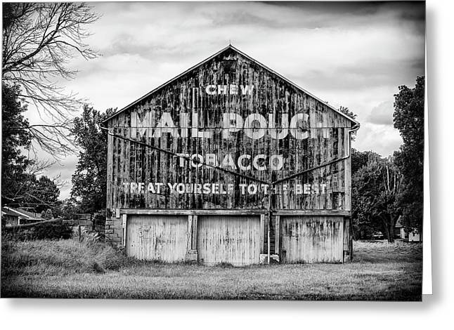 Mail Pouch Barn - Us 30 #2 Greeting Card