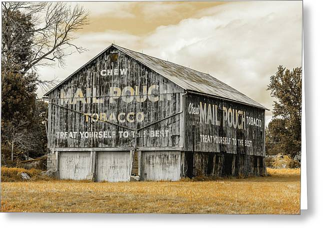 Mail Pouch Barn - Us 30 #3 Greeting Card