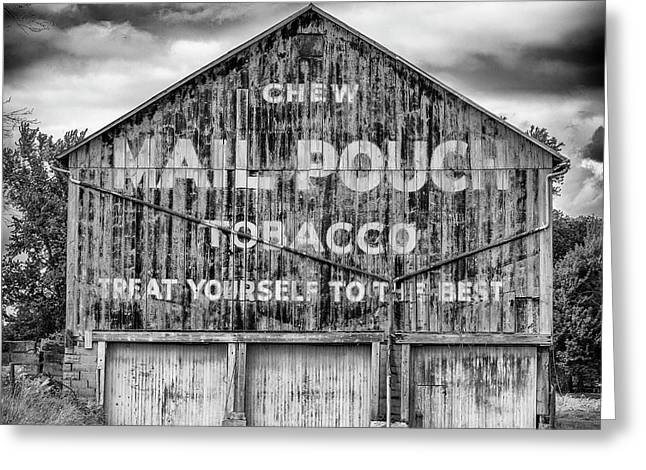 Mail Pouch Barn - Us 30 #6 Greeting Card