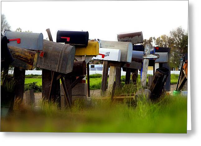 Mailboxes 2 Greeting Card