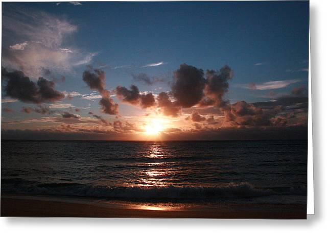 Ma'ili Sunset Greeting Card