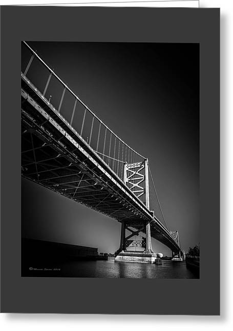 Main Span Greeting Card by Marvin Spates