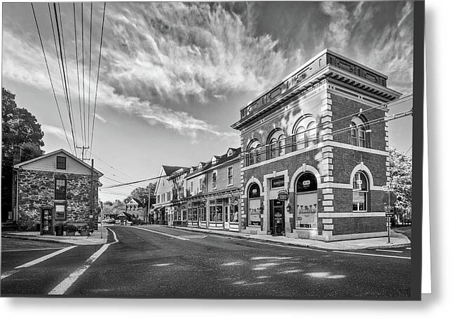 Greeting Card featuring the photograph Main St Sykesville by Mark Dodd