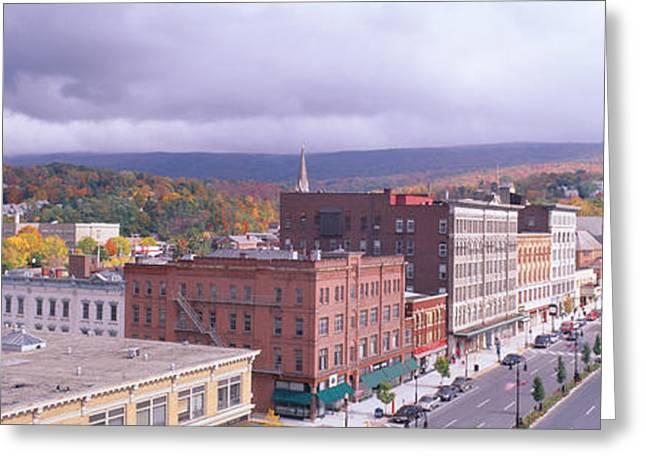 Main Street Usa, North Adams Greeting Card