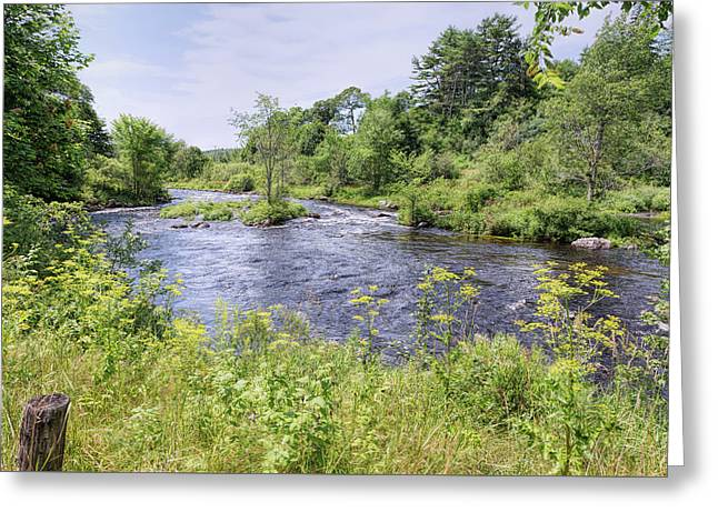 Greeting Card featuring the photograph Maine Beauty by John M Bailey