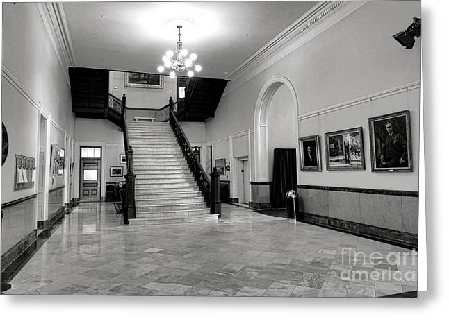 Maine Capitol West Wing Greeting Card