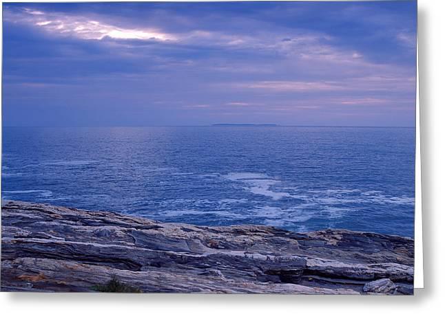 Maine Seascape Greeting Card