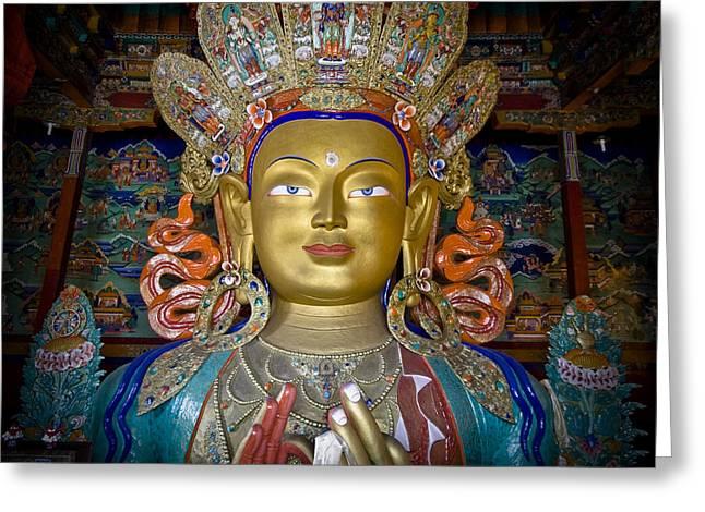 Maitreya Buddha Greeting Card