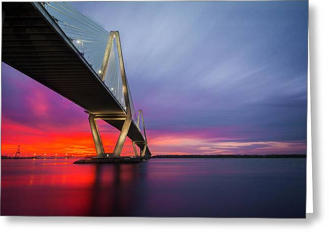 Majestic Arthur Ravenel Greeting Card