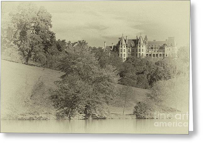 Majestic Biltmore Estate Greeting Card