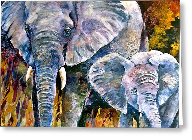 Majestic Greeting Card by Bonny Roberts