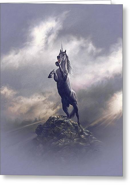 Majestic Dignity  Greeting Card