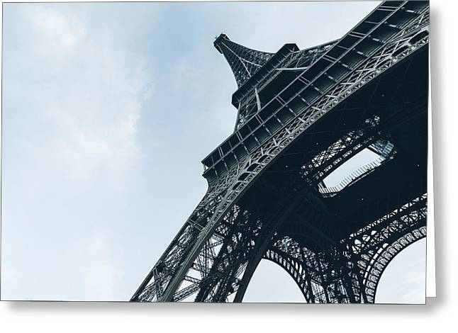 Majestic Eiffel Tower Greeting Card by Marcus Karlsson Sall
