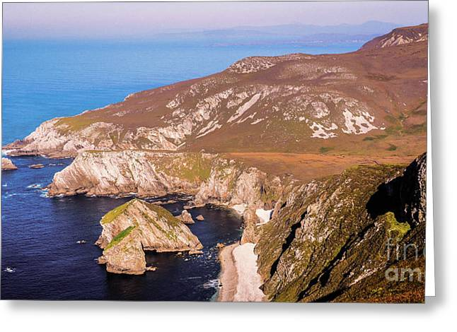 Majestic Glenlough - County Donegal, Ireland Greeting Card