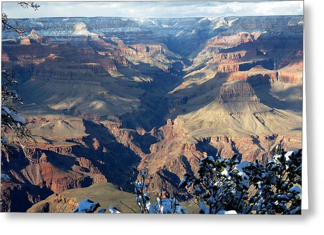 Greeting Card featuring the photograph Majestic Grand Canyon by Laurel Powell