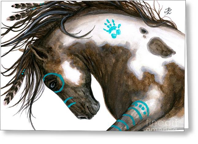 Majestic Horse #151 Greeting Card