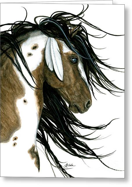 Majestic Horse 159 Greeting Card