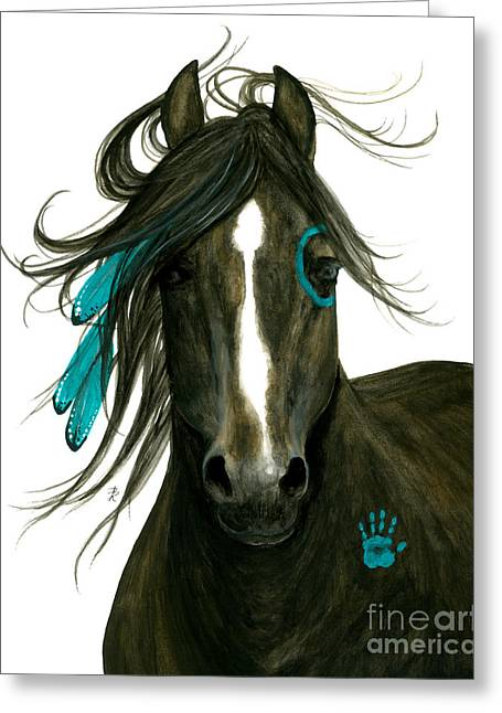 Majestic Horse 163 Greeting Card