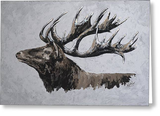 Deer head greeting cards page 5 of 37 fine art america majestic greeting card m4hsunfo