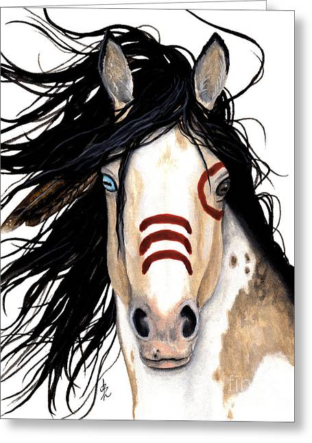 Majestic Look 136 Greeting Card by AmyLyn Bihrle