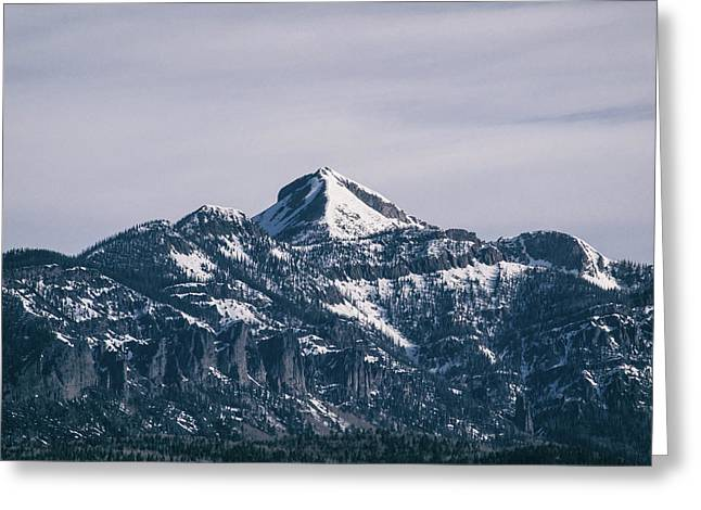 Majestic Morning On Pagosa Peak Greeting Card