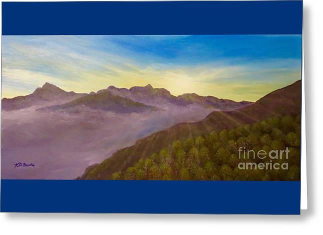 Majestic Morning Sunrise Greeting Card