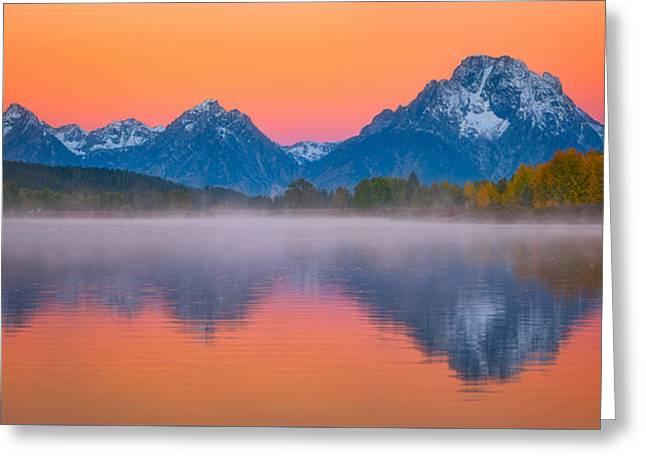 Majestic Morning Views Greeting Card by Darren White