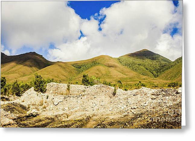 Majestic Rugged Australia Landscape  Greeting Card by Jorgo Photography - Wall Art Gallery