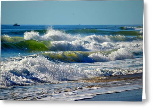 Majestic Sea Greeting Card by Dianne Cowen