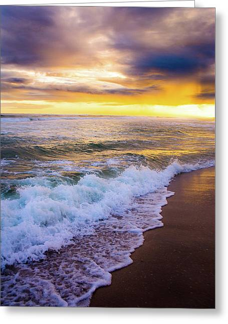 Greeting Card featuring the photograph Majestic Sunset In Paradise by Shelby Young