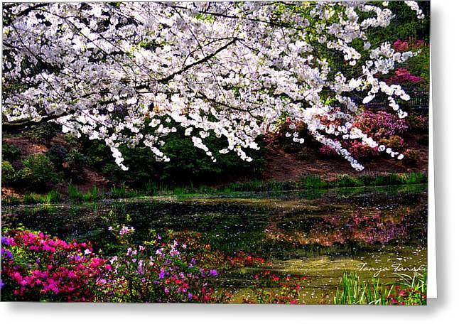 Majesty Garden.... Greeting Card by Tanya Tanski