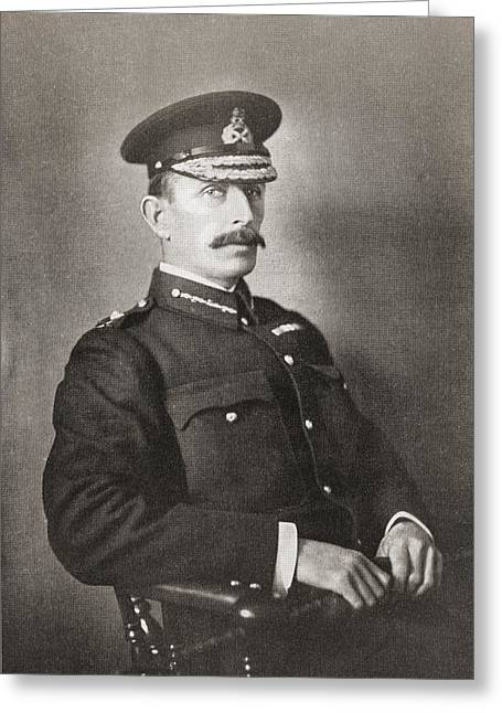 Major-general R A P Clements, Commander Greeting Card by Vintage Design Pics