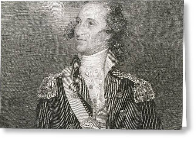 Major General Thomas Pinckney Greeting Card by John Trumbull