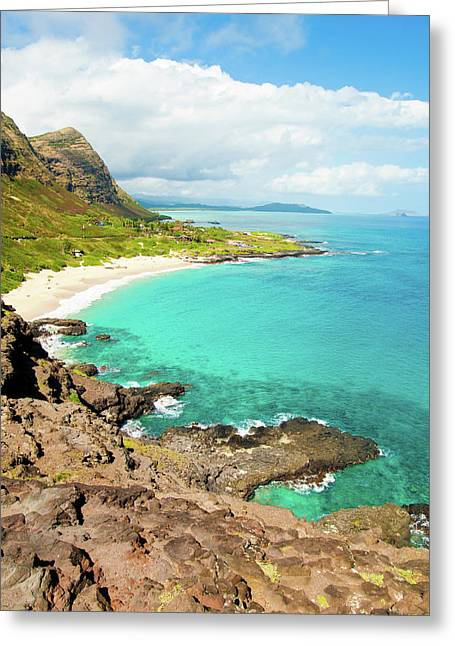 Makapu'u Beach Greeting Card