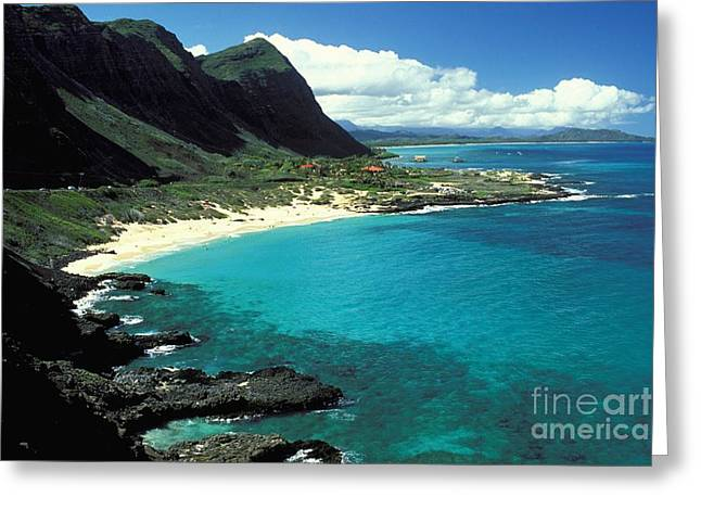 Makapuu Greeting Card by Peter French - Printscapes