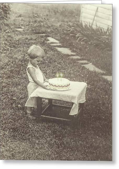 Make A Birthday Wish  Greeting Card